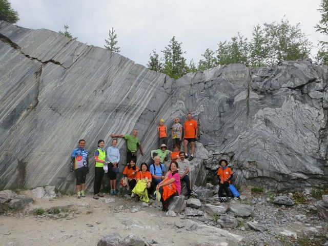 Marble quarry Ruskeala