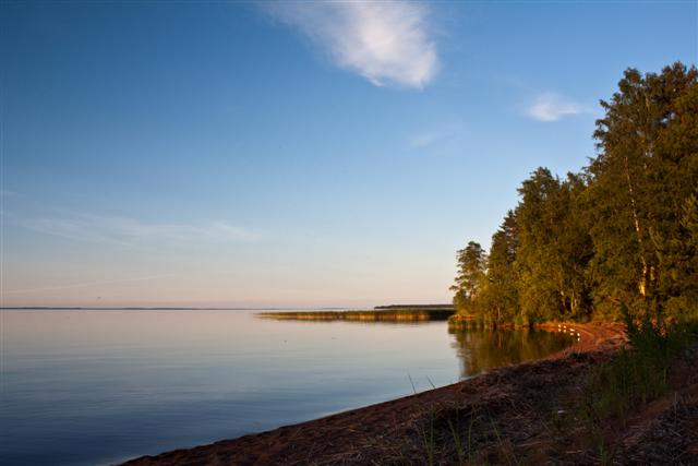 Lake in Karelia