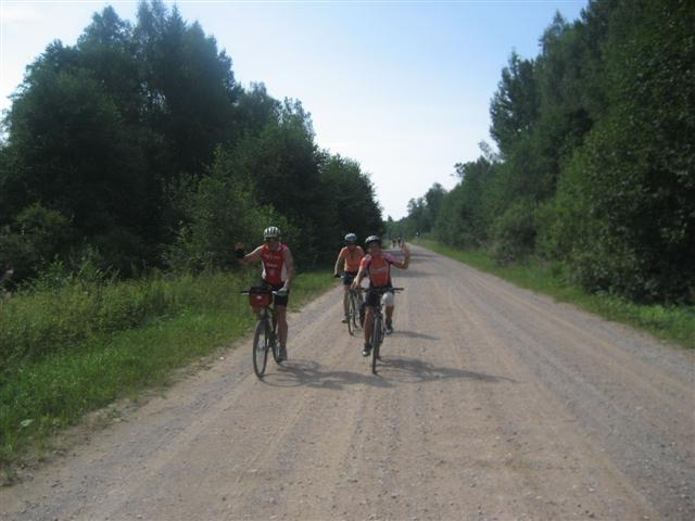 russian gravel road