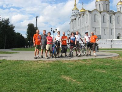 "Tour velo annuel international ""L'Anneau d'Or de Russie"""